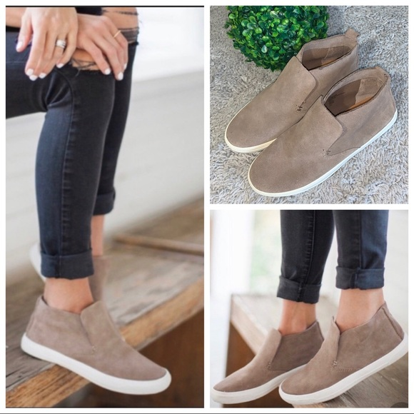 Dolce Vita Suede Leather Xandie Midtop